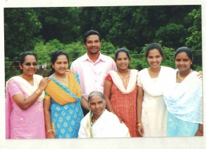 Sr. Justine in Usha India