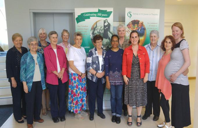 Sr. Justine Visits Canadian Federation